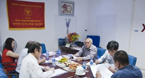 Phiên họp Ban Thường vụ chuẩn bị Lễ kỷ niệm 15 năm thành lập Hội VinaLAB (10/06/2013 – 10/06/2018)