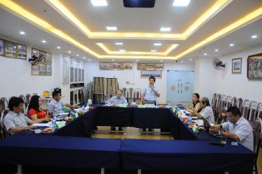 Ban Thường vụ VinaLAB họp chuẩn bị cho đại hội nhiệm kỳ IV