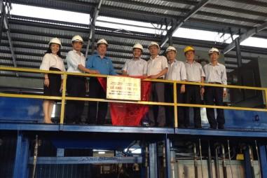 """Công ty Cổ phần Thép Nhà Bè-VNSTEEL: Hai công trình thi đua được gắn biển """"Chào mừng 90 năm thành lập Công đoàn Việt Nam"""""""