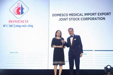 """DOMESCO lần thứ 2 nhận giải thưởng """"Nơi làm việc tốt nhất châu Á"""""""