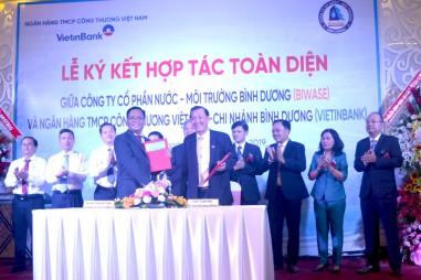 Biwase ký kết hợp tác toàn diện với VietinBank