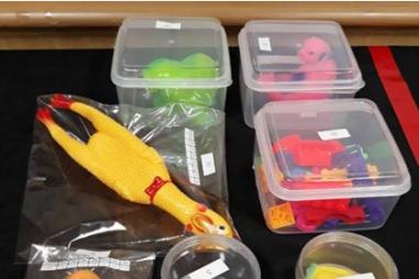 Đồ chơi trẻ em bằng nhựa chứa lượng lớn hóa chất gây ung thư, vô sinh