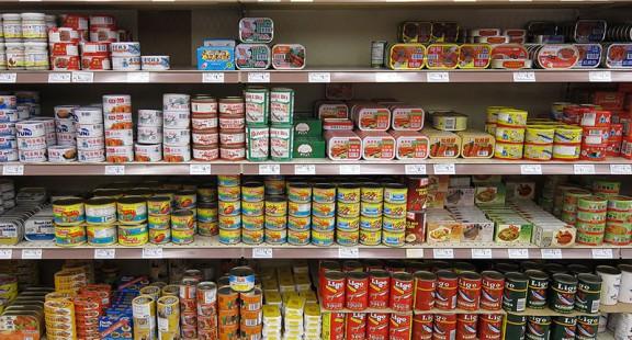 An toàn đối với thực phẩm đóng hộp