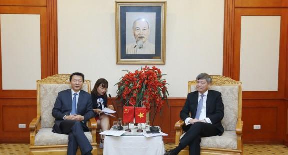 Việt Nam và Trung Quốc thúc đẩy hợp tác trong lĩnh vực tiêu chuẩn hóa