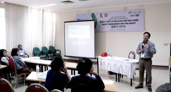 Viện An toàn thực phẩm (FSI) tham gia QMFS 2019