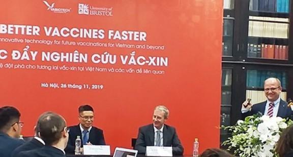 Triển  khai công nghệ sản xuất vắc xin tái tổ hợp hiệu năng cao MutiBac ở Việt Nam