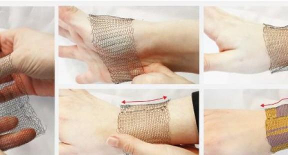 Vải biến hình hoạt động chỉ bằng nhiệt độ cơ thể