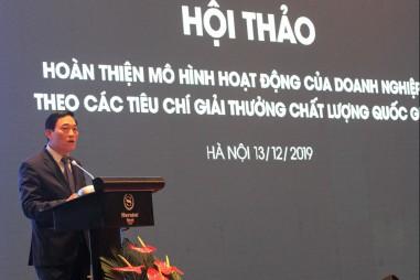Áp dụng tiêu chí của Giải thưởng Chất lượng Việt Nam sẽ mang lại lợi ích cho doanh nghiệp