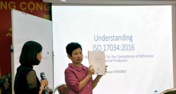 Hội viên VinaLAB tham gia khóa đào tạo Nhận thức chung và Đánh giá nội bộ theo tiêu chuẩn ISO 17034