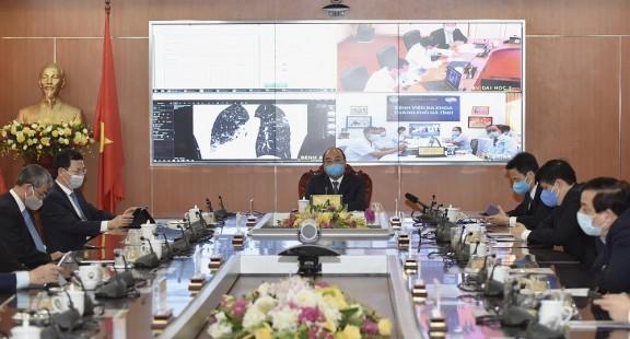 Việt Nam triển khai 2 sản phẩm công nghệ giúp phòng chống COVID-19