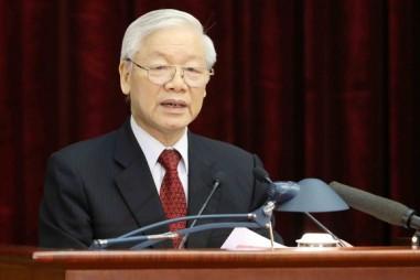 Tổng Bí thư, Chủ tịch nước Nguyễn Phú Trọng chúc mừng 70 năm thành lập Hội Nhà báo Việt Nam