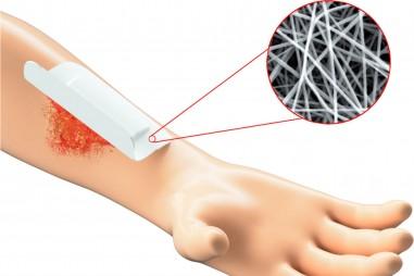 Sợi nano sinh học tăng khả năng chữa lành vết thương