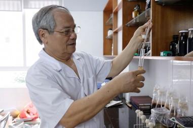 Mô hình sản xuất tinh dầu sả từ những sáng chế