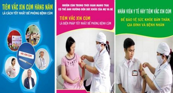Vắc-xin phòng cúm tam liên hoặc tứ liên có thể làm giảm mức độ nghiêm trọng  và tử vong của COVID-19.