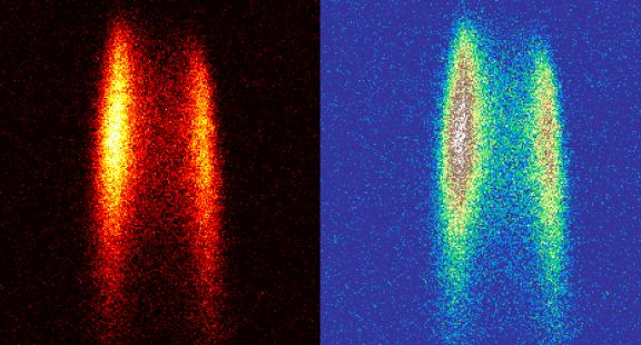 Các nhà nghiên cứu làm nhiễu xạ một chùm các phân tử hữu cơ