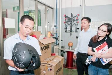 Thế nào là sản phẩm mũ bảo hiểm đạt chất lượng?