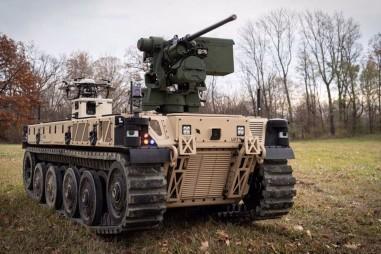 Mỹ thử nghiệm thực chiến robot chiến đấu đầu tiên