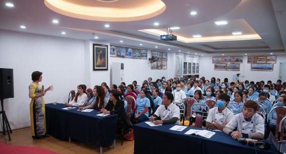 NFSI tổ chức 2 khóa tập huấn kiến thức ATTP cho Công ty Cổ phần Thực phẩm Ngôi sao xanh