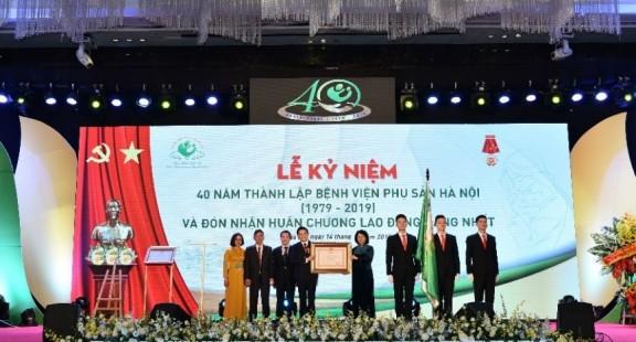 Bệnh viện Phụ sản Hà Nội - Trao nhận niềm tin, khơi thêm nguồn hạnh phúc