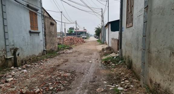 Tiên Du (Bắc Ninh): Đấu giá đất khi chưa hoàn thiện hạ tầng kỹ thuật, người dân khốn khổ