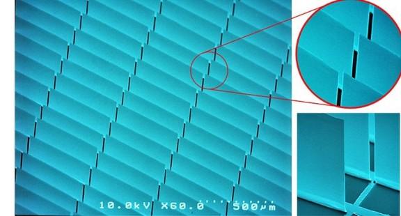 Kính phản quang micromirror điều khiển ánh sáng