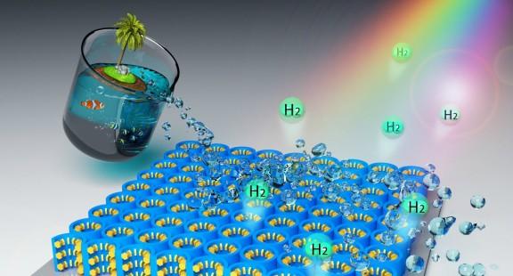 Vật liệu nano mới để lấy nhiên liệu sạch từ biển