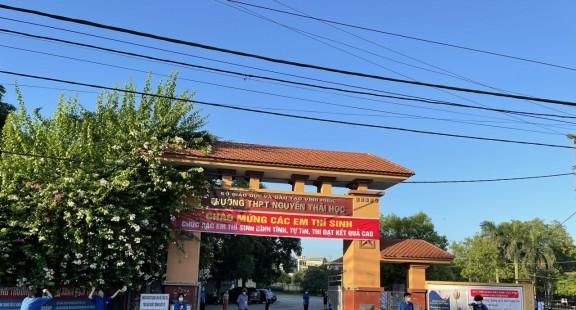 Trường THPT Nguyễn Thái Học – Trường trọng điểm chất lượng phía Bắc tỉnh Vĩnh Phúc