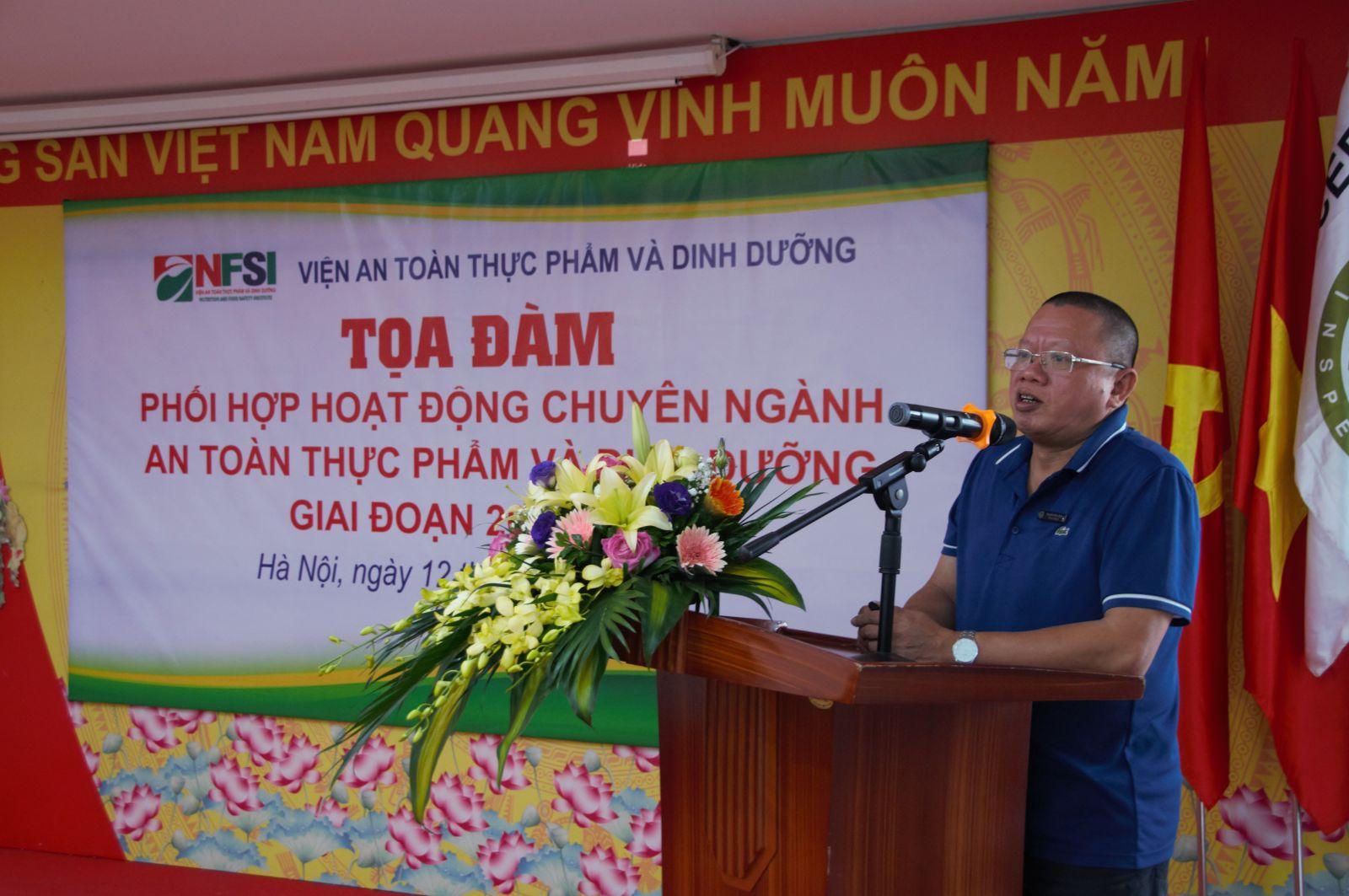 KS. Nguyễn Hữu Dũng phát biểu khai mạc tại Tọa đàm.