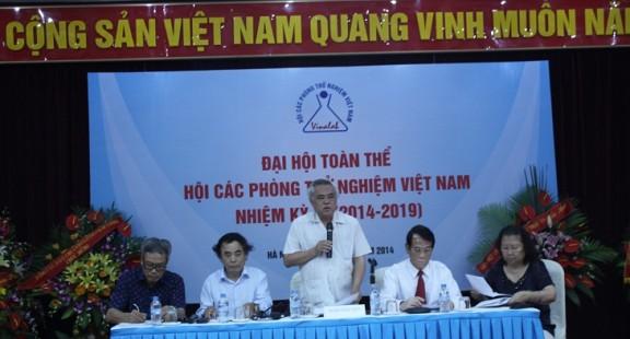 Đại hội toàn thể VINALAB nhiệm kỳ III (2014-2019)
