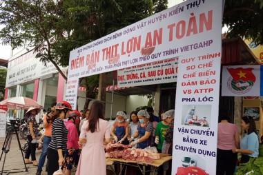 Thúc đẩy tiêu thụ thịt lợn tại thành phố Hải Phòng
