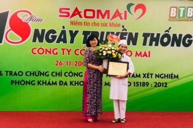 Phòng xét nghiệm tư nhân đầu tiên của tỉnh Thái Bình đạt ISO 15189:2012