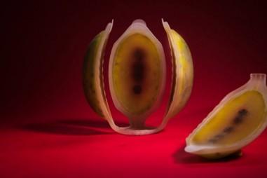 Trái cây nhân tạo ăn được in bằng công nghệ 4D