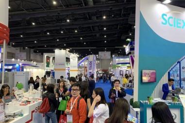 Đoàn VinaLAB tham dự triển lãm ThailandLAB 2019