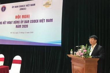 VinaCert tham gia họp tổng kết hoạt động Ủy ban Codex Việt Nam