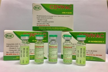 Vaccine COVID-19 thứ 2 của Việt Nam sẽ được tiêm thử nghiệm trên người vào ngày 21/01