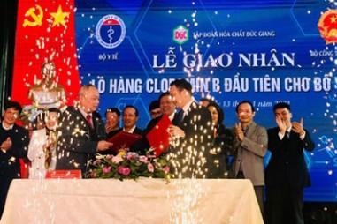 Việt Nam đã chủ động được nguồn Cloramin B để phòng chống dịch