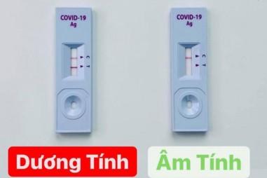 Các loại kit test nhanh COVID-19 đang được rao bán tràn lan